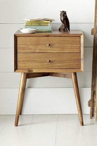 Mid-Century-Nightstand