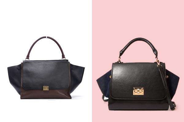 cheap replica celine handbags - C��line Trapeze Bag Knockoff Forever 21 Design Copy