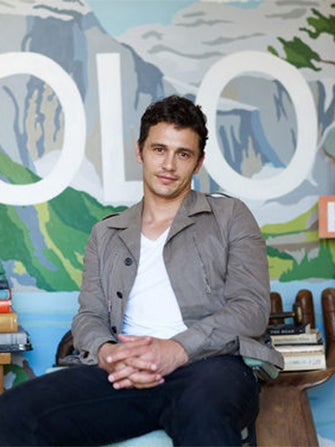 James Franco's YOLO-Themed Airbnb Pad...In A Cemetery!