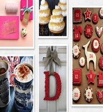 The board: Holiday Cheer The pinner: The stationery gurus at Dandelion Patch What you'll find: Recipes for festive treats and drinks (like North Pole cupcakes and peppermint hot chocolate); crafty DIYs; pretty stationery ideas.