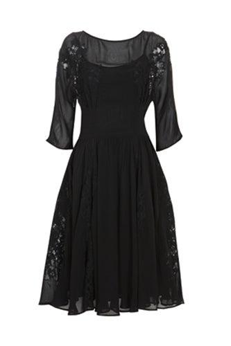black-dress-with-cutout-patterns