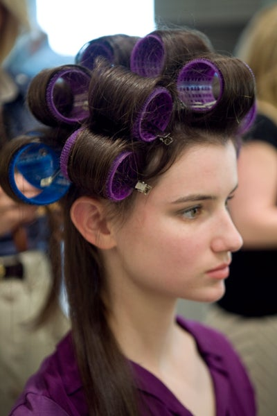 How To Wet Set Hair Rollers Short Hairstyle 2013