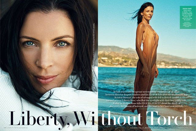 Liberty Ross Speaks Out About