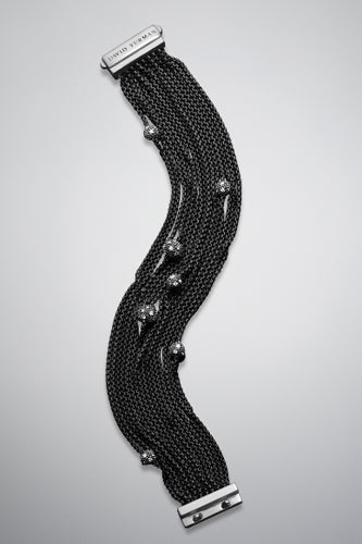 David Yurman Midnight Melange Bracelet with Pave Diamonds