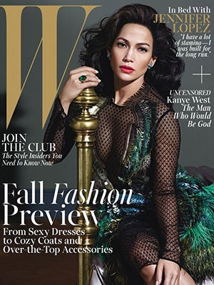 J.Lo Is Rocking This Business On <em>W</em> Mag's August Cover