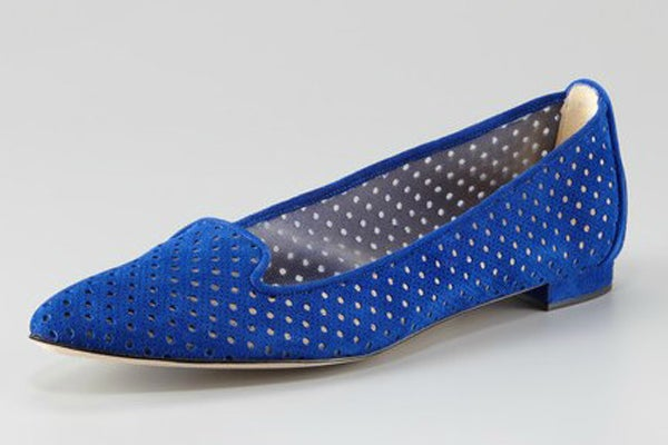 Manolo Blahnik Sharifac Perforated Loafer - Neiman Marcus