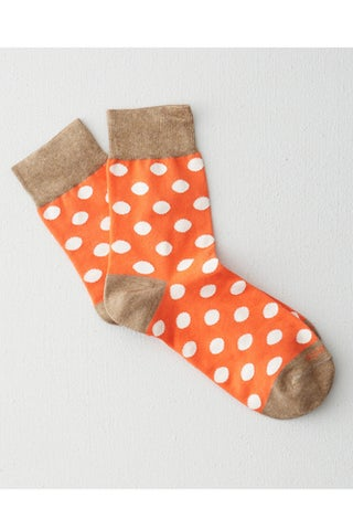 Etiquette Clothiers Polka Dot Socks_$22_Steven Alan
