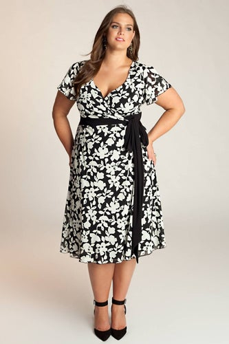 Vintage Inspired Plus Size Dresses 16