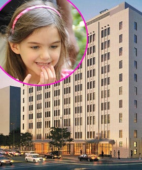 suri-cruise-new-school-in-NYC