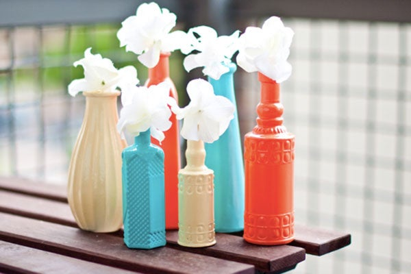 Easy DIY Projects Painted Vases How To