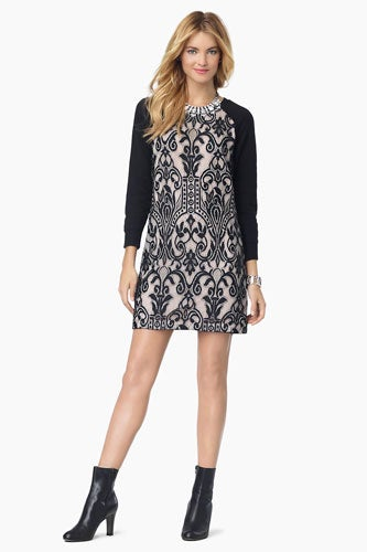 "Juicy-Couture,-""Amalfi-French-Terry-With-Lace-Dress"",-Juicy-Couture,-$198"