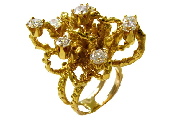 Kimberly Klosterman 1960 gold and diamond-1stdibs-$6,800