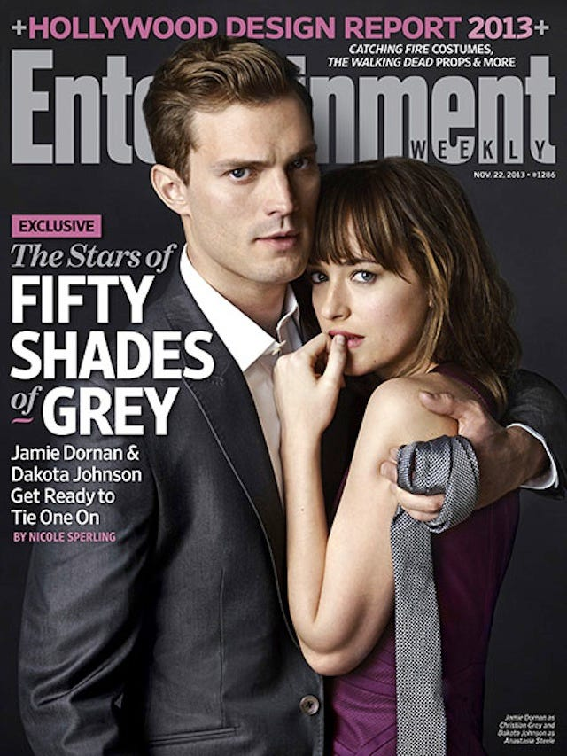 Fifty Shades Of Grey Movie Pictures Are Here!