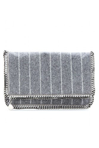 Stella-McCartney-Falabella-Striped-Wool-Blend-Clutch_$952_MYTHERESA.COM