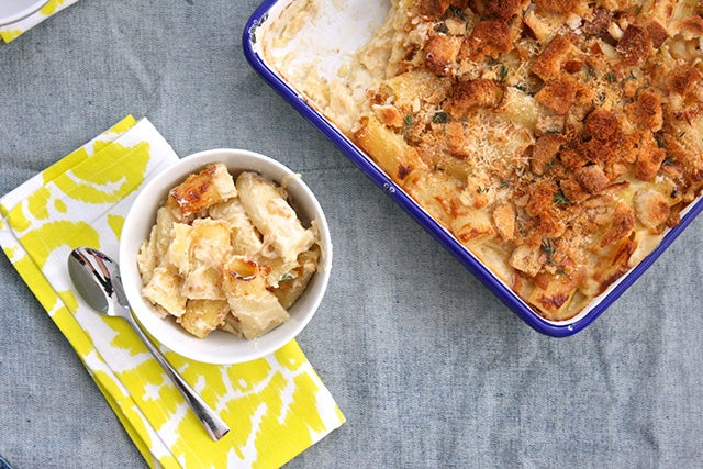 Cook Once, Eat Thrice: A Grown-Up's Mac-'N'-Cheese Dinner