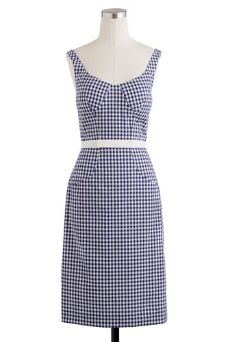 ALtuzarra-Navy-Gingham-Dress
