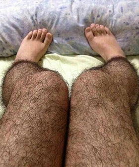 Apparently Leg-Hair Stockings Are The New Pepper Spray