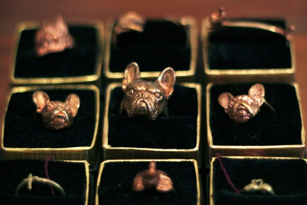 Skeletons, Puppies, And Baby Heads? Meet Jewelry-Haven Verameat