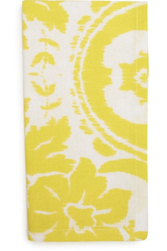 Sur-La-Table_yellow-ikat-print-napkin_3