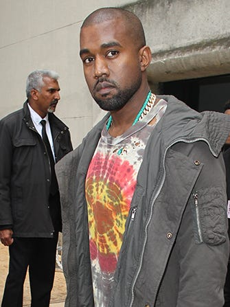 Kanye West Wines & Dines Anna Wintour In The Name Of Vogue