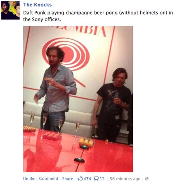 Daft Punk Photographed Sans Helmets; Loss Of Wonder Is Severe