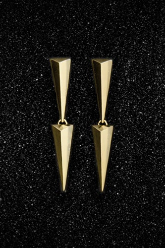 Double-Small-Solid-Pyramid-Earrings