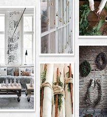 The board: ChristmasyThe pinner: Blogger Rebecca Gallop of A Daily Something What you'll find: Rustic, natural decor ideas; Scandinavian-inspired simplicity; lots of greenery; a serene Kinfolk-meets-Anthropologie vibe.