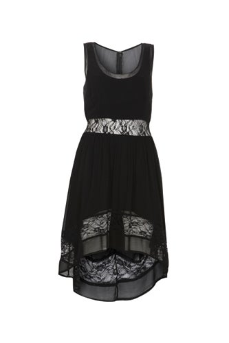 black-lace-sleevless-dress