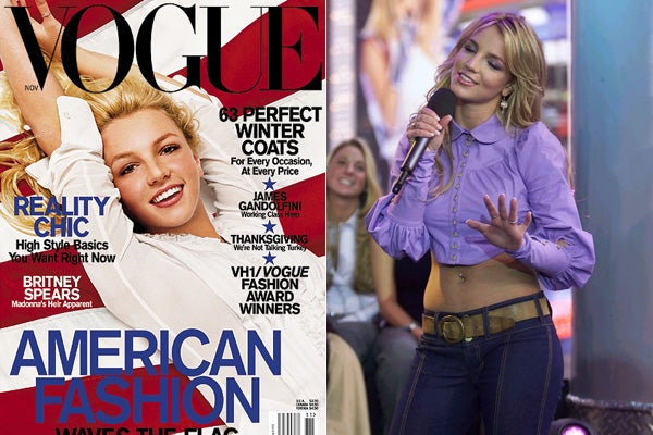 Britney Spears Vogue Magazine Cover Shoot