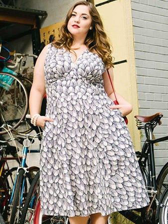 Meet The First Plus-Size Designer To Show At NYFW