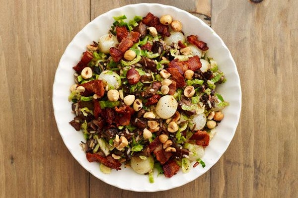 Whole Wheat Stuffing With Pancetta, Chestnuts, And Parmesan Recipes ...