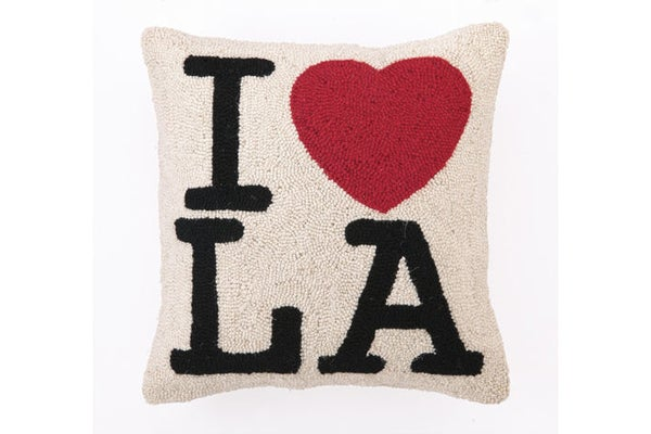 I LOVE LA Hook Pillow - smoothsailing40- $59.80