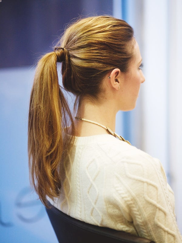 easy to do ponytail hairstyles