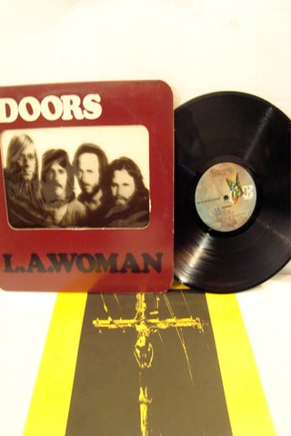 Doors L.A. Woman Record with Original Sleeve-oditmsb412-$34.99 