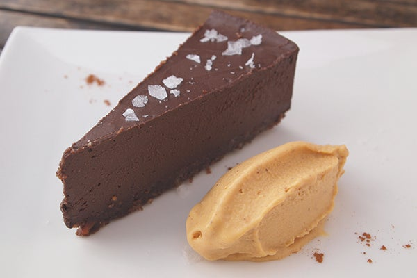 ancho chocolate truffle pie 2