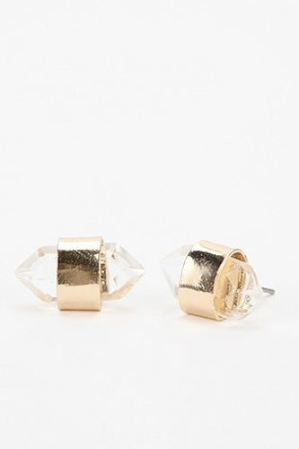 urban crystal earrings