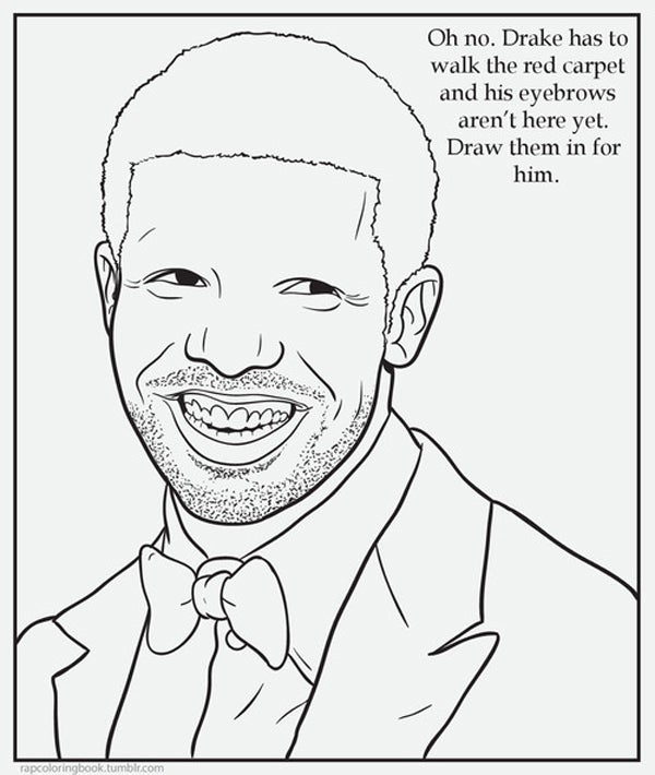 Rap coloring book funny tumblrs Coloring book meme