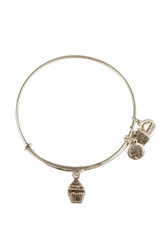 Alex And Ani Cupcake Expendable Wire Bangle 28