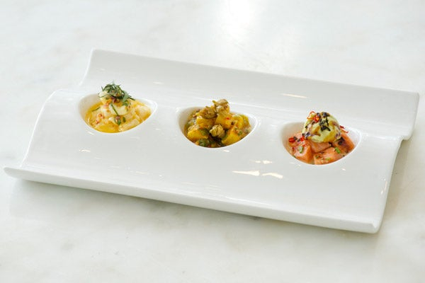 Mondrian Ceviche Trio