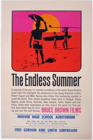 THe Endless Summer Original Poster - filmartgallery - $895.00