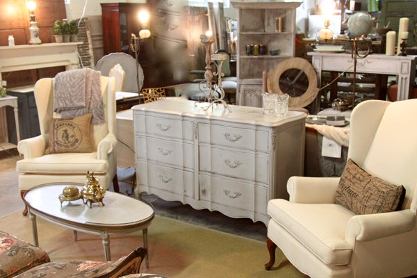 Stylish Patina Rough Luxe Marketplace Vintage Furniture