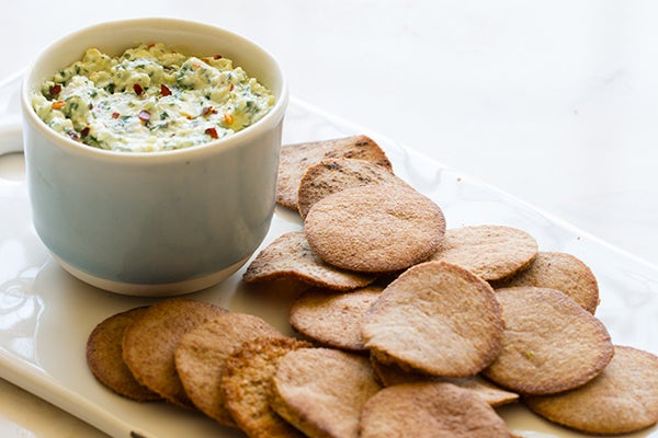 Snack Better With This Kale & Artichoke Dip