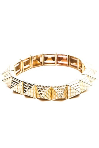 Brandy-Melville_Gold-Egyptian-Pyramid-Bracelet_9
