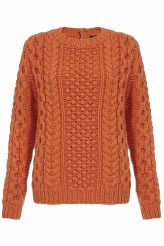 Joseph cable knit sweater was £395 now £240@harrods.com