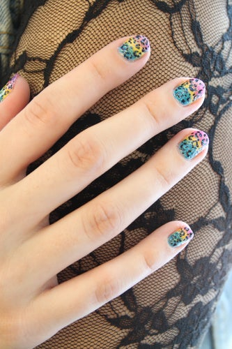 lisa-frank-nail-art-cheetah-4