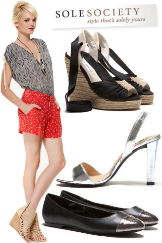 Subscription Fashion Shopping Sites- Sole Society