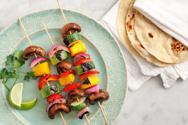 Beyond The Burger: Easy Grilled Veggie Skewers