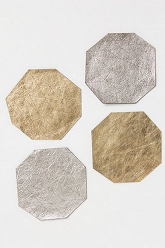 Leather Theorum Coasters_$42_Anthropologie
