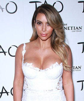 Kim Kardashian Plans Baby Clothing Line. Let's Imagine What It Will Look Like