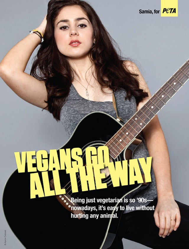 All The Girls Standing In The Line For The Bathroom: PETA Teenage Girl Offensive Ads